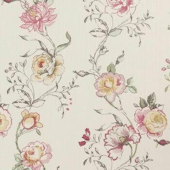 Clarke & Clarke - Clarisse Fabrics - Clarisse Raspberry