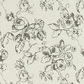 Clarke & Clarke - Clarisse Fabrics - Delphine Charcoal
