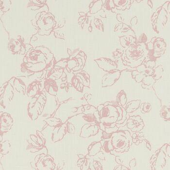 Clarke & Clarke - Clarisse Fabrics - Delphine Rose