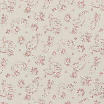Clarke & Clarke - Clarisse Fabrics - Evelina Rose