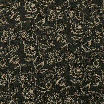 Clarke & Clarke - Clarisse Fabrics - Marie Charcoal