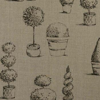 Clarke & Clarke - Clarisse Fabrics - Topiary Linen