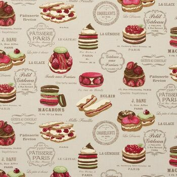 Studio G - Sketchbook - Patisserie Linen