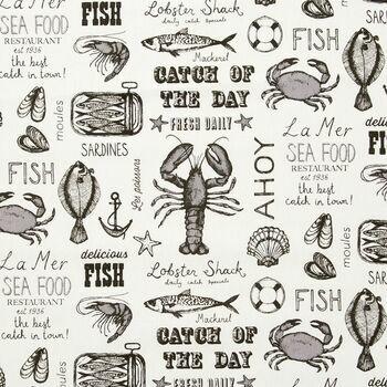 Studio G - Sketchbook - Seafood Charcoal