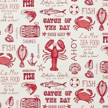 Studio G - Sketchbook - Seafood Red