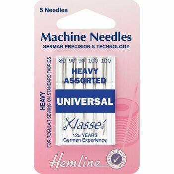 Hemline Universal Heavy Machine Needles