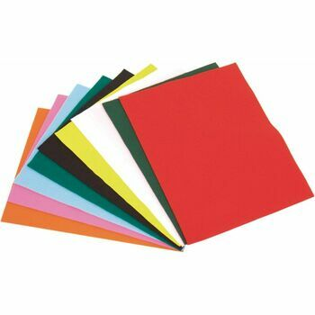 The Craft Factory Felt - Assorted Colours Acrylic (10 Pieces)