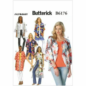 Butterick pattern B6176