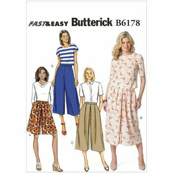 Butterick pattern B6178