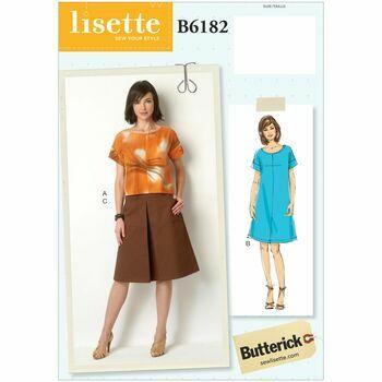 Butterick pattern B6182
