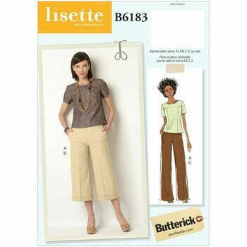 Butterick pattern B6183