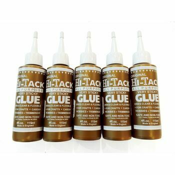 Trimits Original Gold Hi-Tack Glue - 115ml (5 Pack)