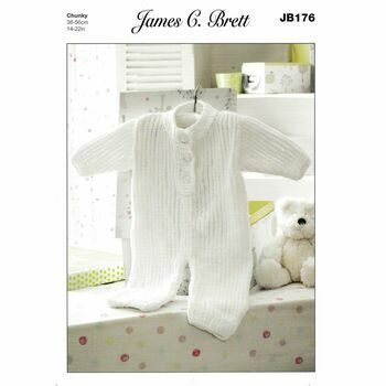 Brett Pattern Chunky All In One Baby Suit JB176