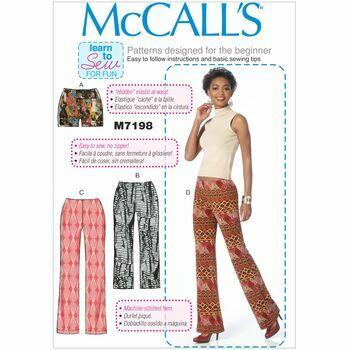 McCalls pattern M7198