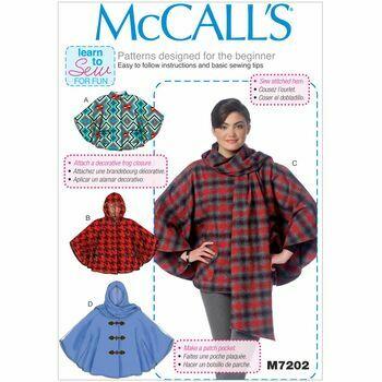 McCalls pattern M7202