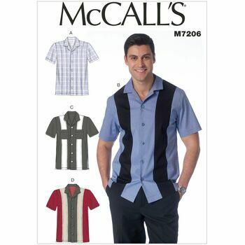 McCalls pattern M7206