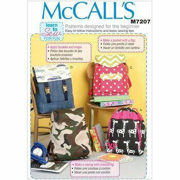 McCalls pattern M7207