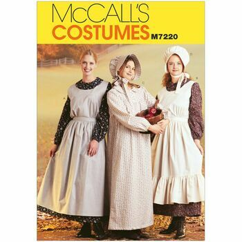 McCalls Pattern M7220 Misses' Pioneer Costumes