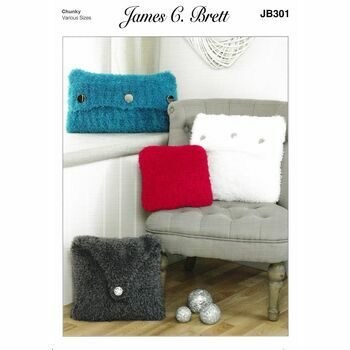 James C Brett Pattern Wildcat Chunky JB301