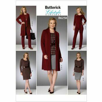 Butterick Pattern B6258