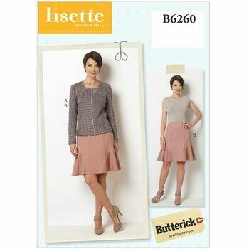 Butterick Pattern B6260