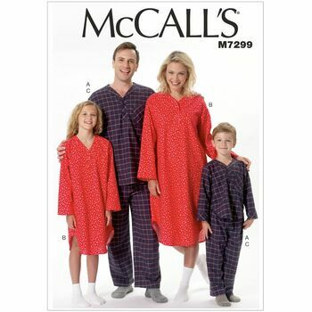 McCalls pattern M7299