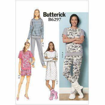Butterick pattern B6297