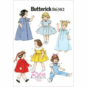 Butterick pattern B6302