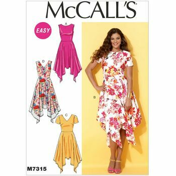 McCall's Sewing Pattern M7315 (Misses Dresses)