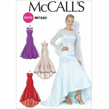 McCall's Sewing Pattern M7320 (Misses Prom Dress)