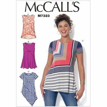 McCall\'s Sewing Pattern M7323 (Misses Tops)
