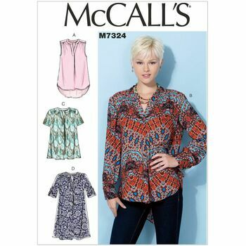 McCall\'s Sewing Pattern M7324 Women\'s Tops & Tunic