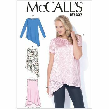 McCall's Sewing Pattern M7327 (Misses Tops)