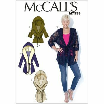 McCall's Sewing Pattern M7333 (Misses Jackets)