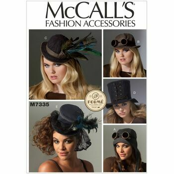 McCall's Sewing Pattern M7335 (Hats)