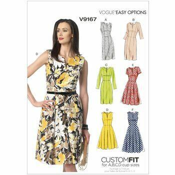 Vogue Sewing Pattern V9167 (Misses Dress)