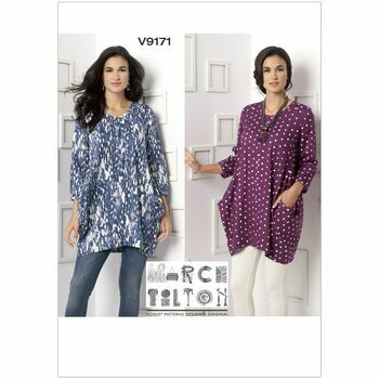 Vogue Marcy Tilton Sewing Pattern V9171 (Misses Tunic)