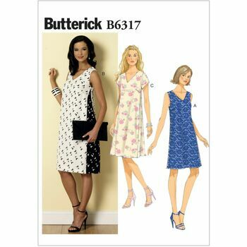 Butterick Sewing Pattern B6317 (Misses Dress)