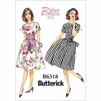 Butterick pattern B6318