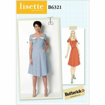 Butterick pattern B6321