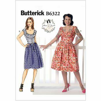 Butterick pattern B6322