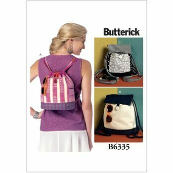 Butterick Sewing Pattern B6335 (Backpacks)