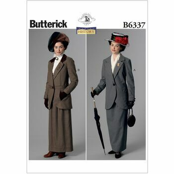 Butterick Making History Sewing Pattern B6337 (Misses Costumes)