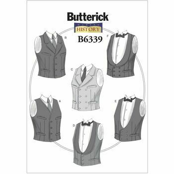 Butterick Making History Sewing Pattern B6339 (Mens Costumes)