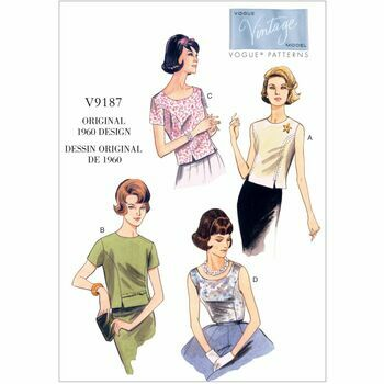 Vogue pattern V9187