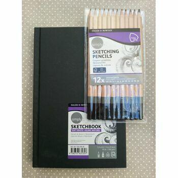 Daler Rowney Artists Sketching Set - Pad & Pencils