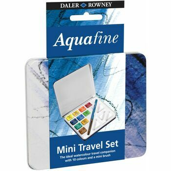 Daler Rowney Aquafine Mini Travel Tin