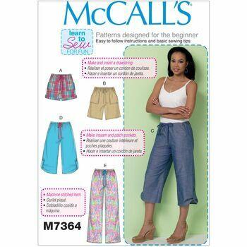 McCalls pattern M7364