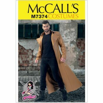 McCalls Pattern M7374 Collared and Seamed Coats