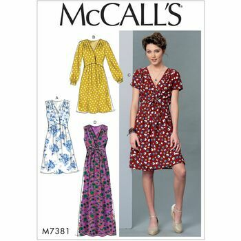 McCalls pattern M7381